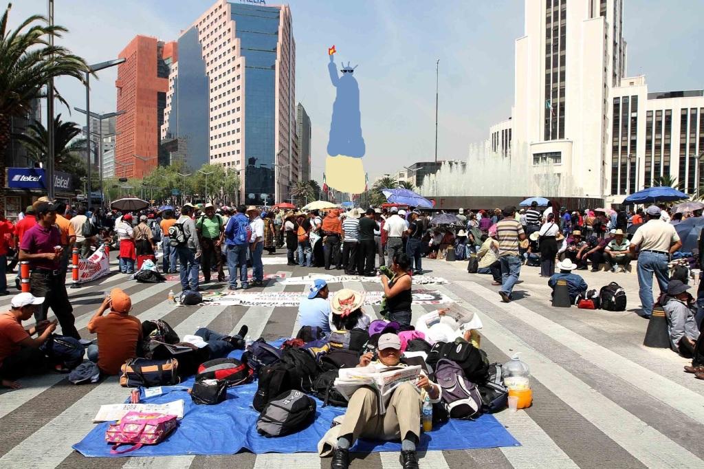 CNTE-manifestación