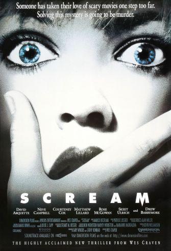 scream 1996 original poster