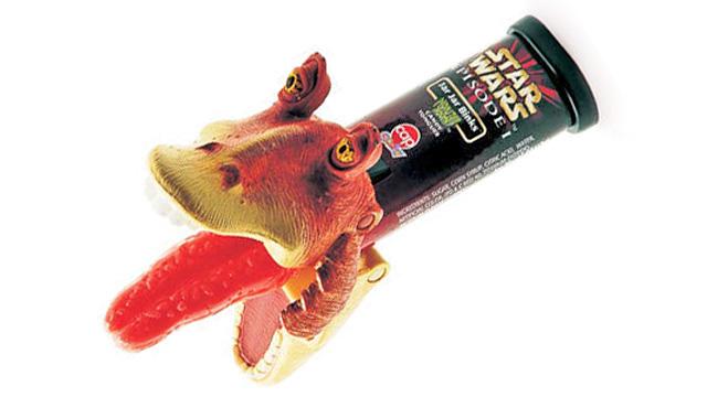 El merchandising más loco de Star Wars jar-jar lengua de caramelo