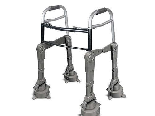 Merchandising loco de Star Wars caminador para viejos