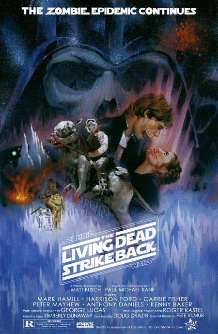 Merchandising loco de Star Wars Zombie Wars Posters 2