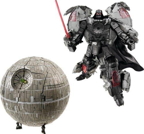 Merchandising loco Star Wars Estrella de la muerte transformer