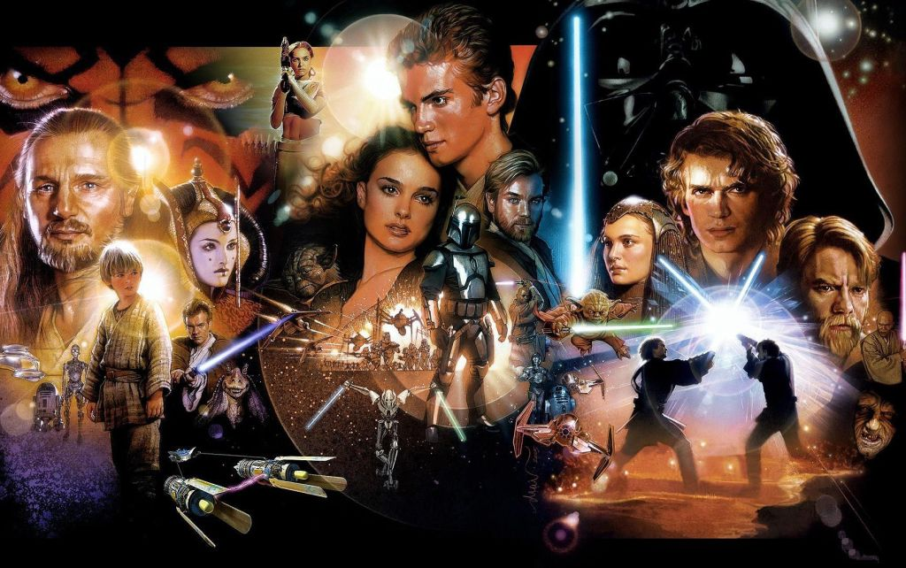 star wars prequels wallpaper